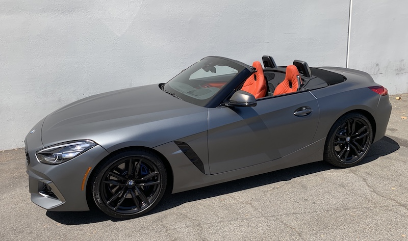 SmartTOP additional cabriolet top control for the new BMW Z4 available soon