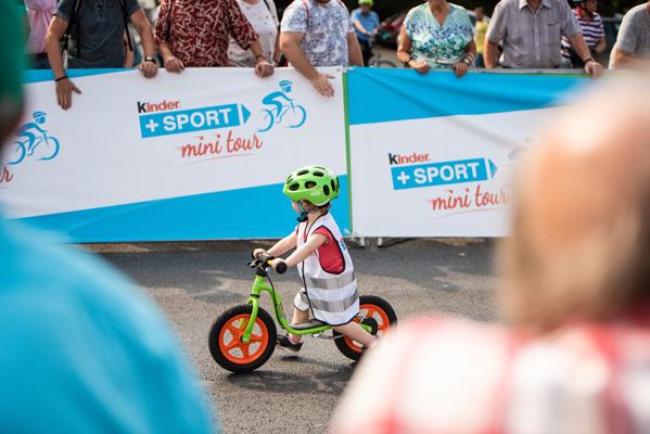 Das erste Radrennen