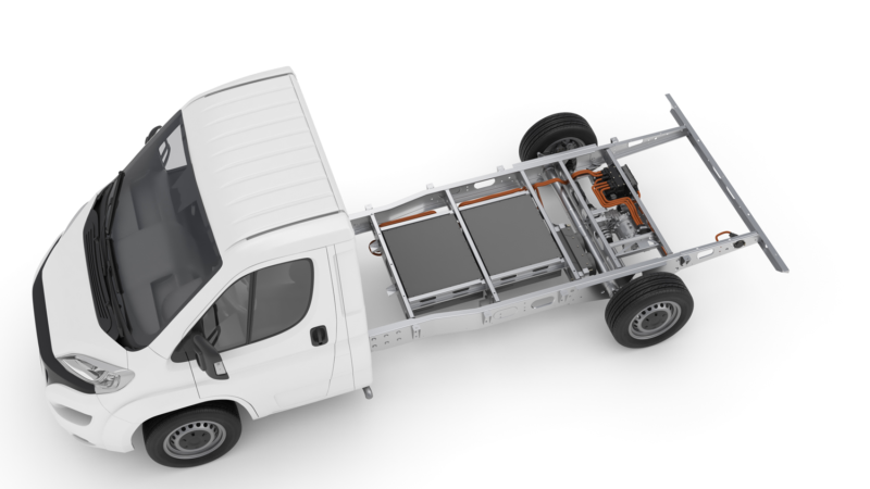 Nächster Schritt für Hybrid Power Chassis