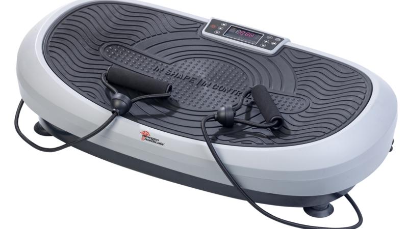 newgen medicals 7in1-Curved-Vibrationsplatte WBV-435.3D