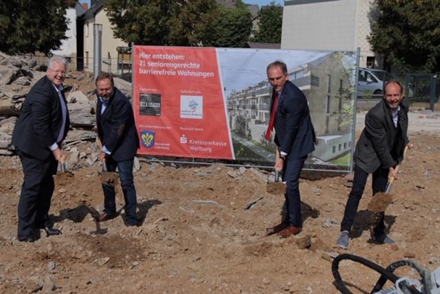 Bezahlbarer neuer Wohnraum für Löhnberg: Kreissparkasse Weilburg investiert in Wohnungen