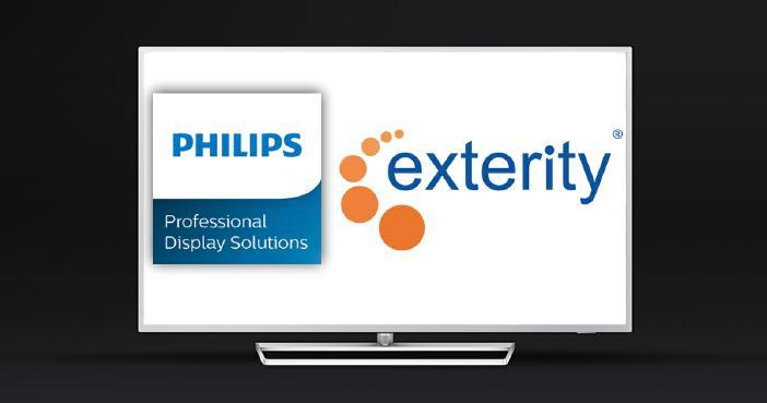 Exterity und Philips Professional Display Solutions erweitern die Partnerschaft für die neue, smarte Pro TV MediaSuite-Produktreihe