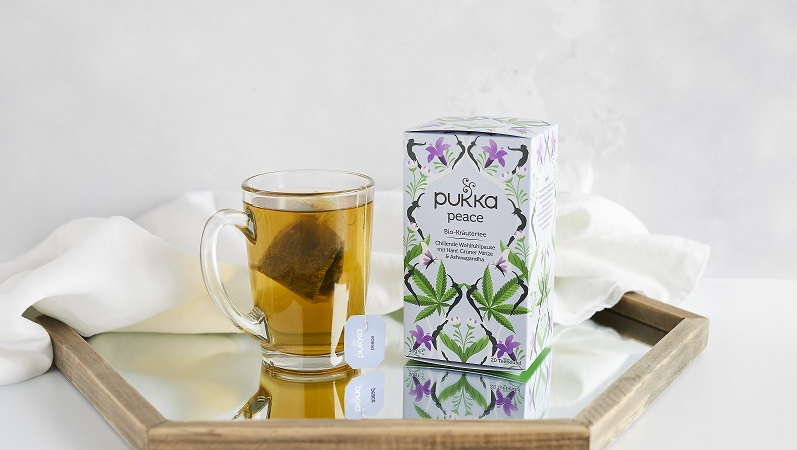 """Eine Tasse Frieden mit dem neuen Bio-Kräutertee """"Peace"""" von Pukka Herbs"""