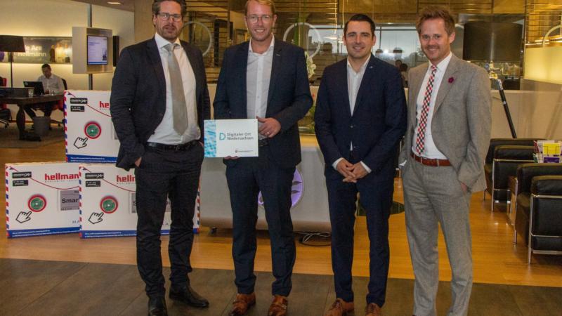 """Hellmann erhält Auszeichnung """"Digitaler Ort Niedersachsen"""""""
