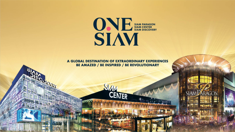 A Global Destination in Bangkok Launches OneSiam Application