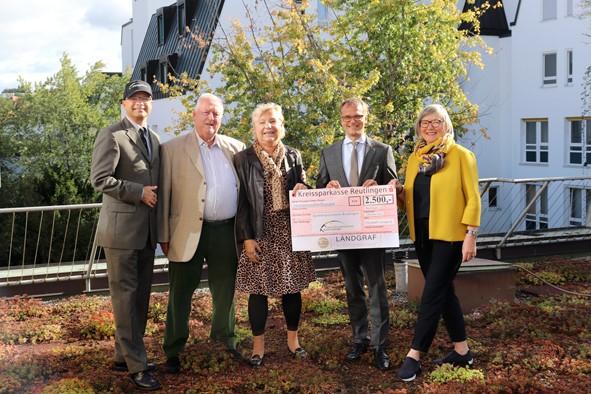 Spendenparlament Reutlingen – Landgraf Immobilienmakler spendet Euro 2500