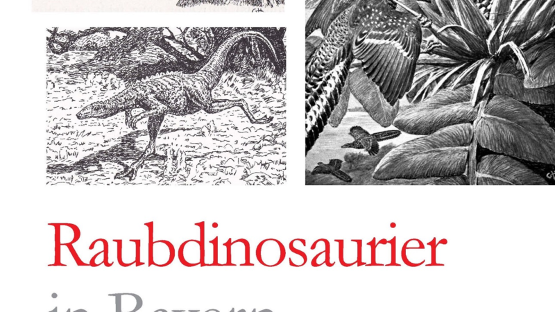 Raubdinosaurier in Bayern