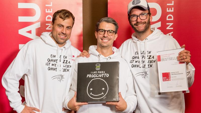 Gustavo Gusto: Auszeichnung für Tiefkühlpizza