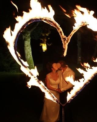 Feuershow für Hochzeit und andere Events