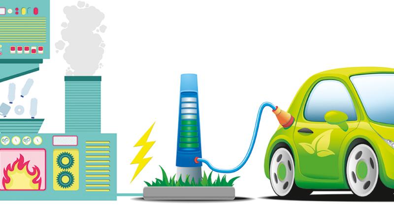 E-Autos und Kraftwerke – ein gutes Gespann
