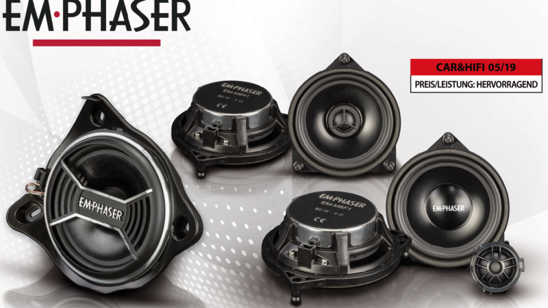 Sound Upgrade – EMPHASER Speaker for Mercedes
