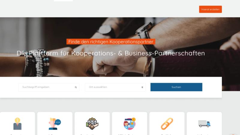 Coop Modus – Kooperationspartner finden leicht gemacht