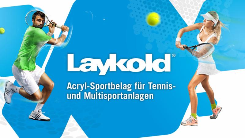 Laykold® – der Acryl-Sportbelag für Bestleistungen