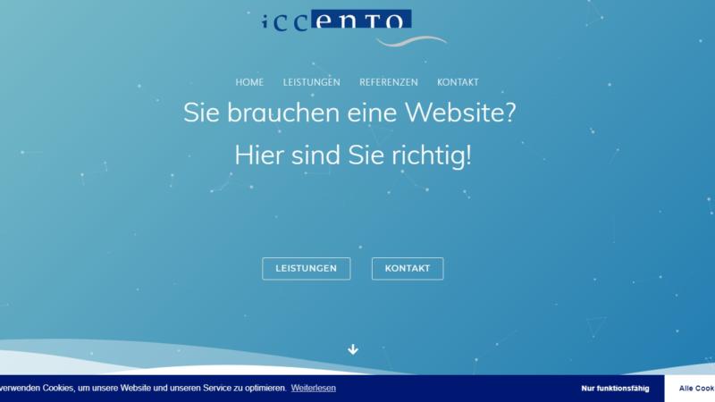 iccento web solutions neuer Geschäftsbereich der Agentur Holger Hagenlocher