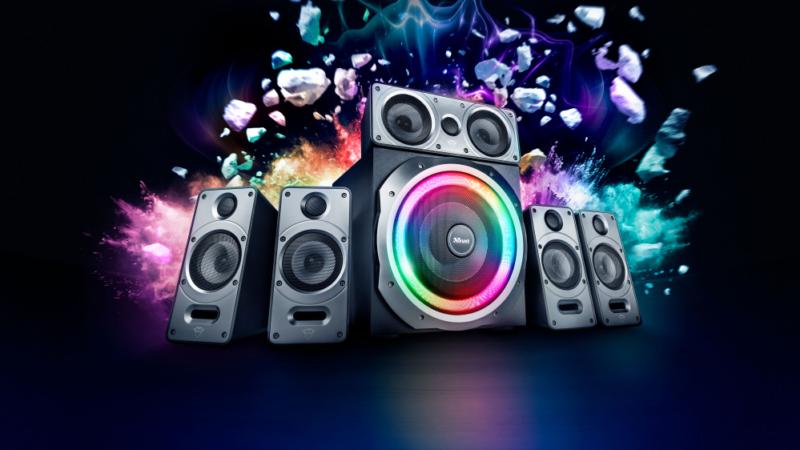 GXT 698 Torro – Trust Gaming stellt neues 5.1 Lautsprecher-Set mit 360° Dolby Surround vor