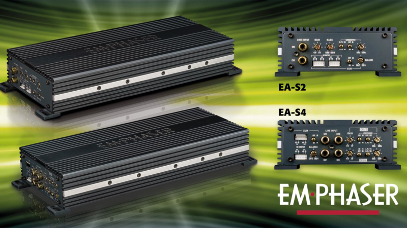 New EMPHASER Amplifiers for Audiophile Music Lovers