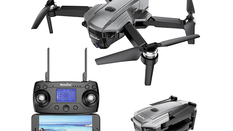 Simulus Faltbarer GPS-Quadrocopter GH-250.fpv