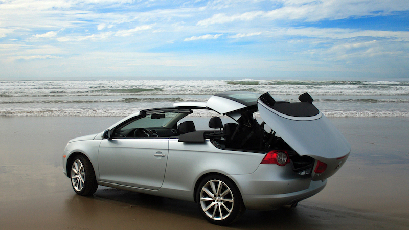 SmartTOP convertible top module for VW EOS enables top operation while driving