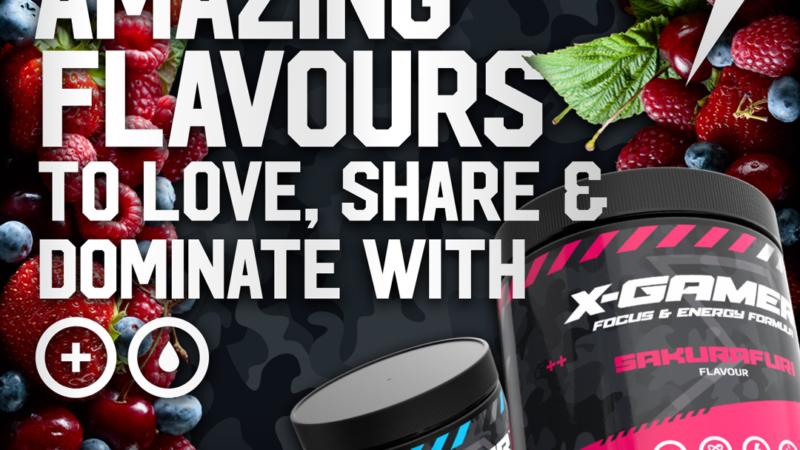 EXKLUSIV bei Caseking – Leistungssteigerndes Getränkepulver für eSportler von X-Gamer!