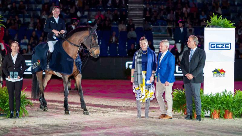 GEZE sponsert Springsport der Extraklasse beim Stuttgart German Masters 2019