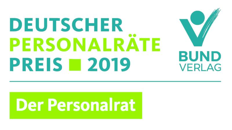 Deutscher Personalräte-Preis 2019 verliehen