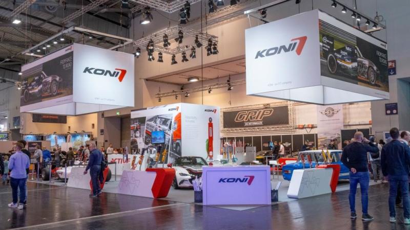 KONI auf der Essen Motorshow: Oldtimer, Tuning und Fahrzeug für Formel-Rennen