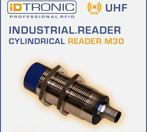 iDTRONICs RFID BLUEBOX Micro IA   Cylindrical Reader M30