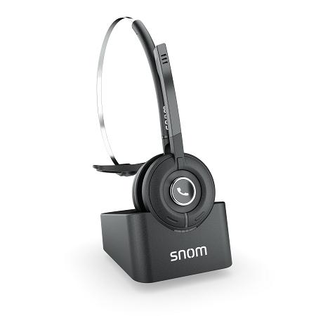 Das Snom A190 Multizellen-DECT-Headset: Nahtloses Handover und Roaming für Ihre Ohren