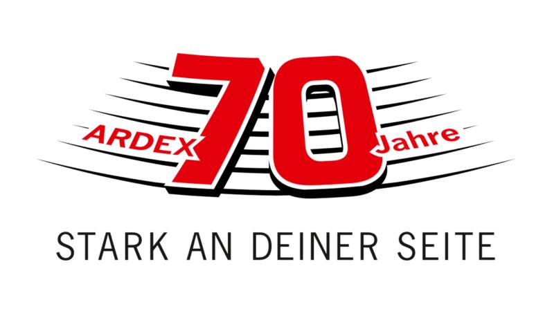 Ardex feiert seinen 70. Geburtstag