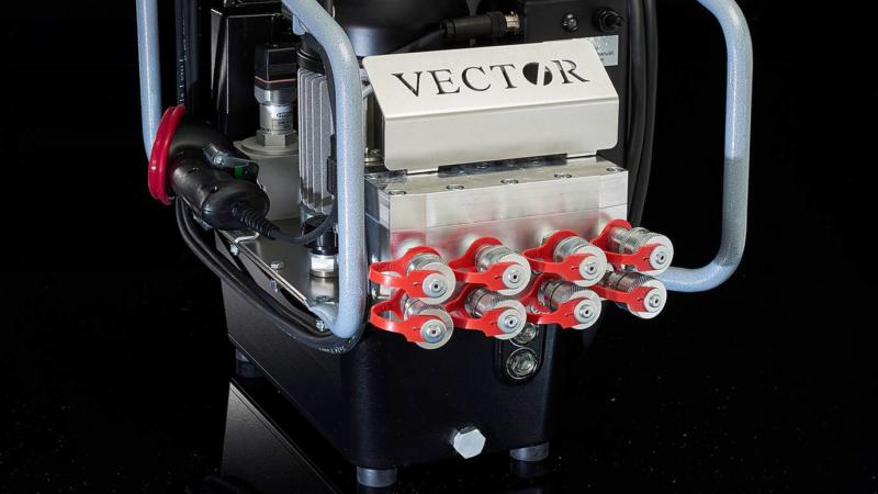 HYTORC Vector Pumpe revolutioniert die Flanschverschraubung