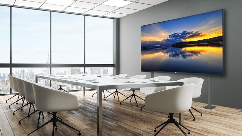 LG: Neues 130″ LED-Display sorgt für nahtlose Anbindung im Konferenzraum