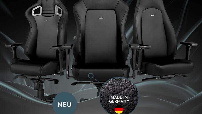 BRANDNEU bei Caseking: Die noblechairs Black Edition – Die Krönung der Erfolgsmodelle!