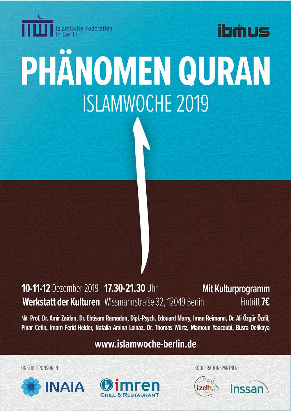Islamwoche Berlin 2019 – Phänomen Quran