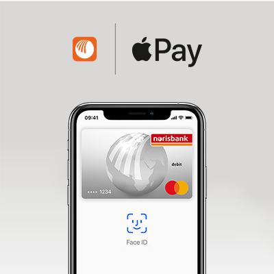 norisbank geht mit Apple Pay an den Start – einfach, sicher und vertraulich bezahlen