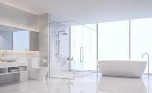 Duschabtrennung für das Bad