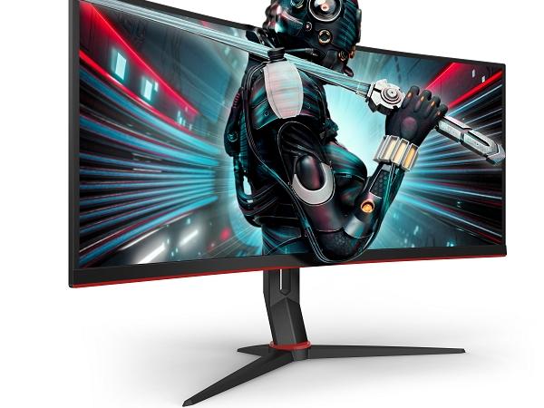 Völlig eintauchen mit den 34″-UltraWide-Curved-Gaming-Monitoren CU34G2 und CU34G2X von AOC