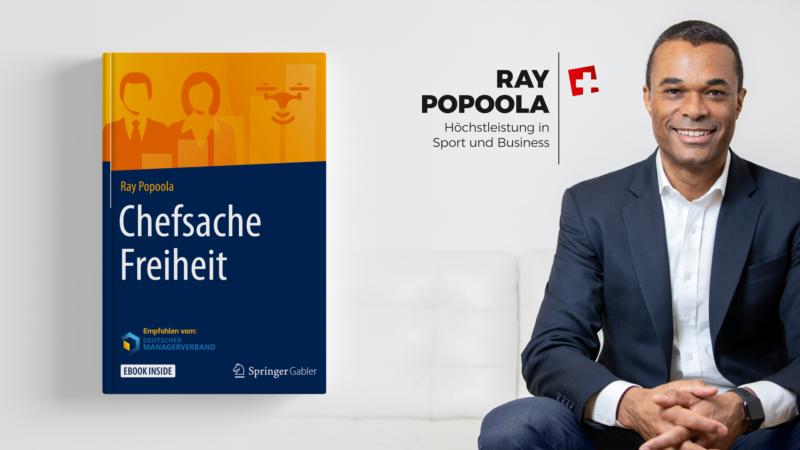 Ray Popoola mit neuer Publikation: Chefsache Freiheit