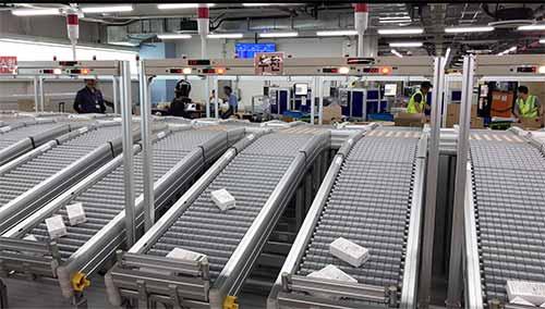 Avancon baut das Distribution Center für Samsung