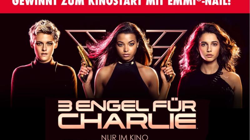 Emmi-Nail kooperiert zum Kinostart von 3 ENGEL FÜR CHARLIE