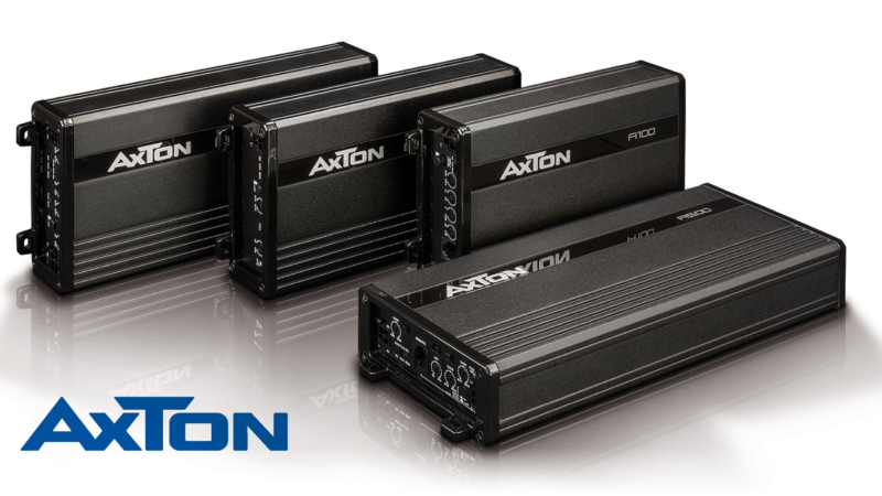 Compact Power Packages: AXTON's New Amplifier Series