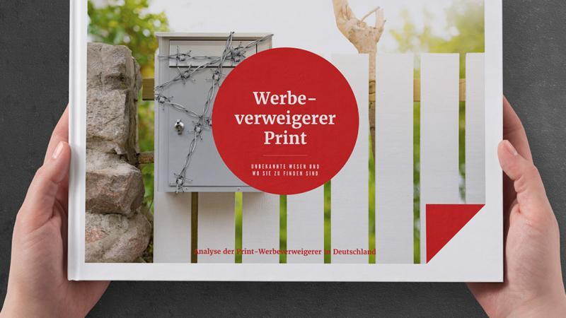 Unabhängige Studie zur Analyse der Print-Werbeverweigerer in Deutschland veröffentlicht