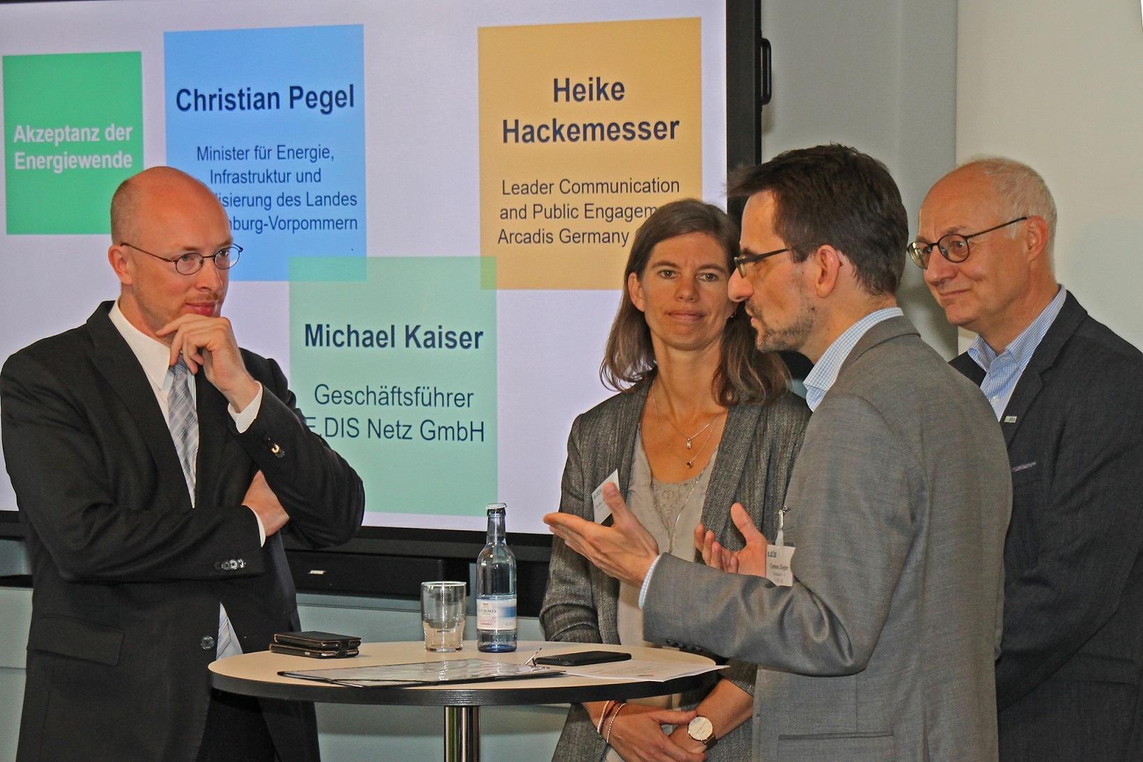 E.DIS und seine Partner arbeiten an der Energiewende