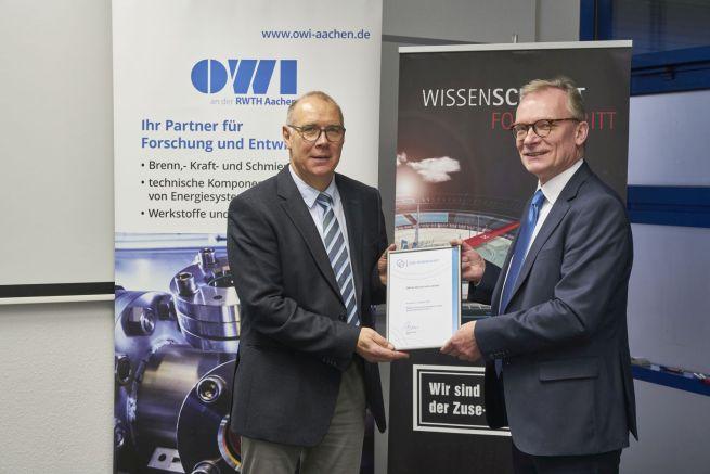 Oel-Waerme-Institut tritt der Zuse-Gemeinschaft bei