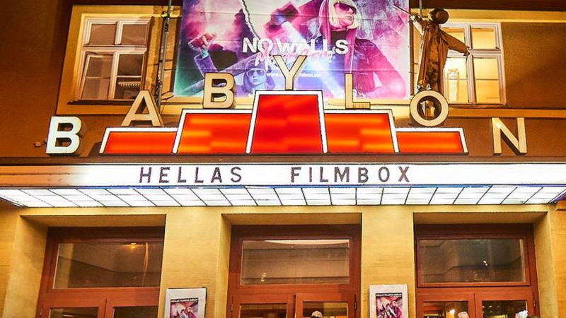 Hellas Filmbox 5. Edition,15.-19.01.2020 im Kino Babylon Berlin – Feminine, sunny & blue!
