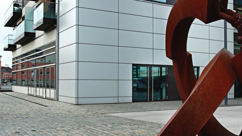 Raum für Nachhaltigkeit im Kölner Rheinauhafen