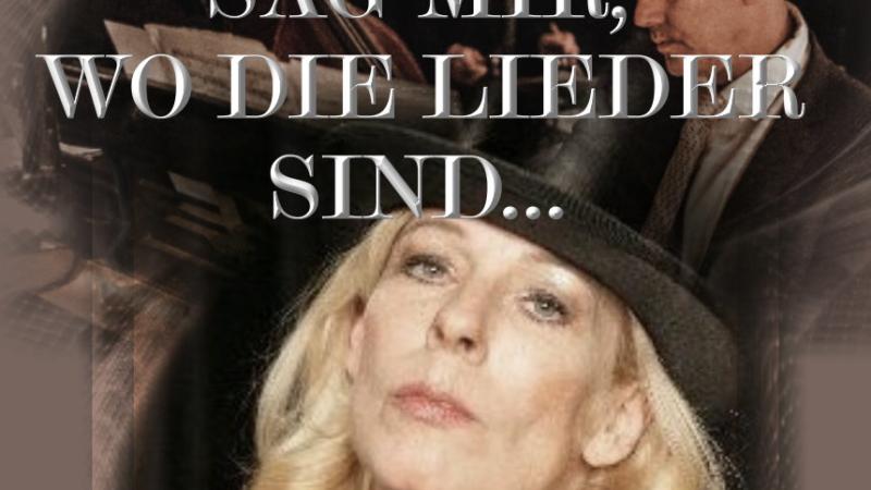 SAG MIR, WO DIE LIEDER SIND     Gabriele Misch & Trio präsentieren Marlene Dietrich und Hildegard Knef – ihr Leben, ihre Lieder, ihre Freundschaft