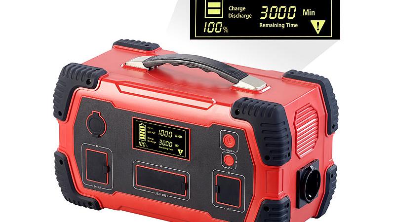 revolt Solar-Konverter & Powerbank HSG-1000