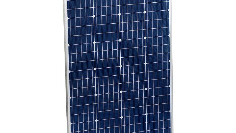 revolt Mobiles Solarpanel mit monokristallinen Zellen