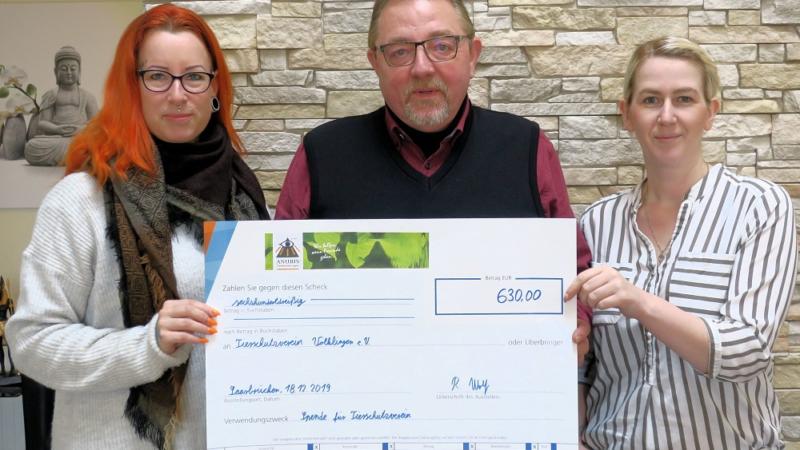 ANUBIS-Tierbestattungen spendet für Tierschutzverein Völklingen e.V.