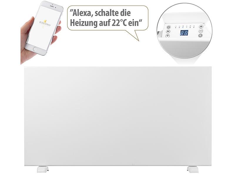 Sichler Haushaltsgeräte Konvektorheizung EHZ-1500 mit App